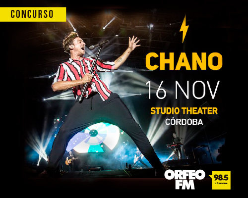 Chano en Studio Theater